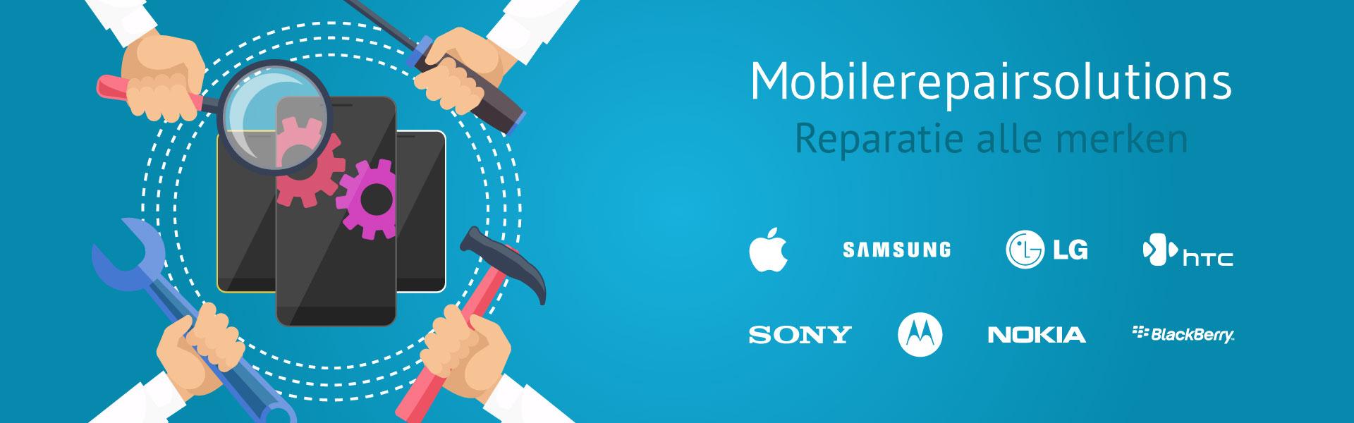 Smartphone & tablet reparatie Sittard - alle merken