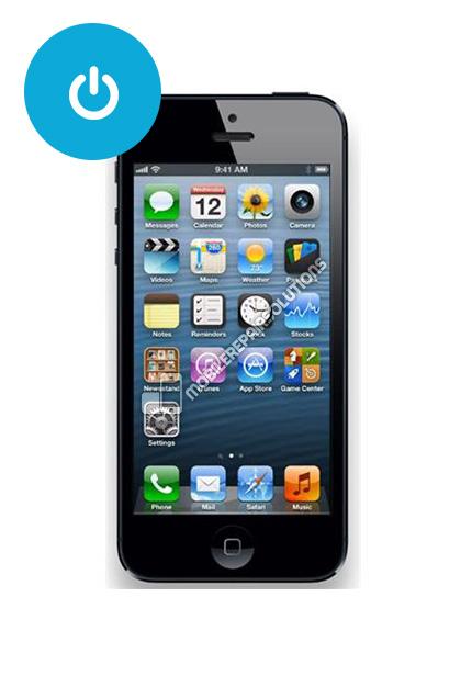 AAN UIT KNOP VERVANGEN IPHONE 5