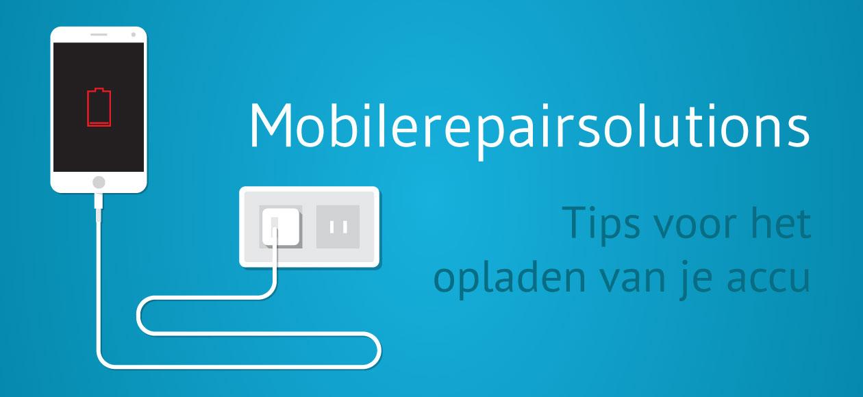 Accu Iphone  Opladen